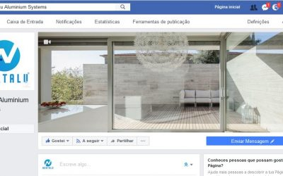 A Nortalu está no facebook e no LinkdIn.